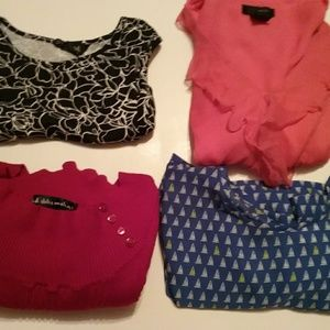 WOMENS BUNDLE OF TOPS SIZE SMALL